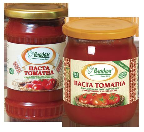 Владам паста томатная