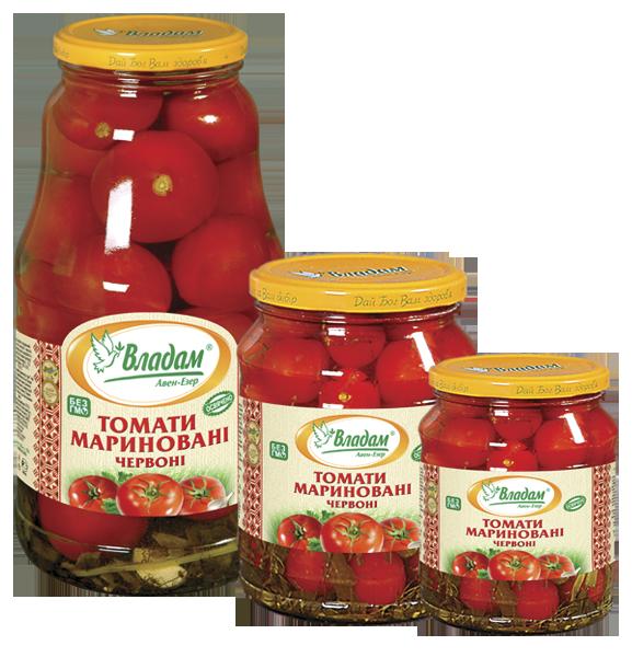 Владам томаты маринованые