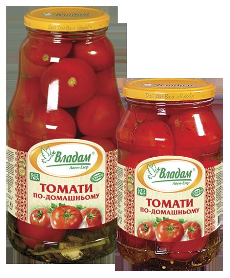 Владам томаты по-домашнему