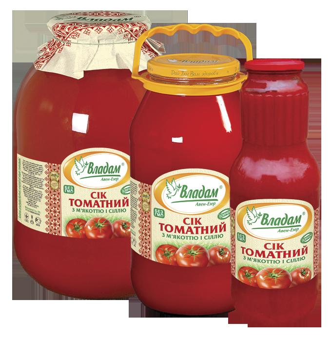Владам сок томатный