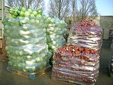 Упаковка овощей
